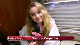 "Sabrina Carpenter - Making Of ""can't Blame A Girl For Trying""    Radio Disney Insider   Radio Disney"
