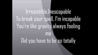 Irresistible ost. Saving Face - Marc Anthony Thompson Lyrics