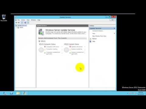 WSUS(Windows Server Update Service) Windows 2012