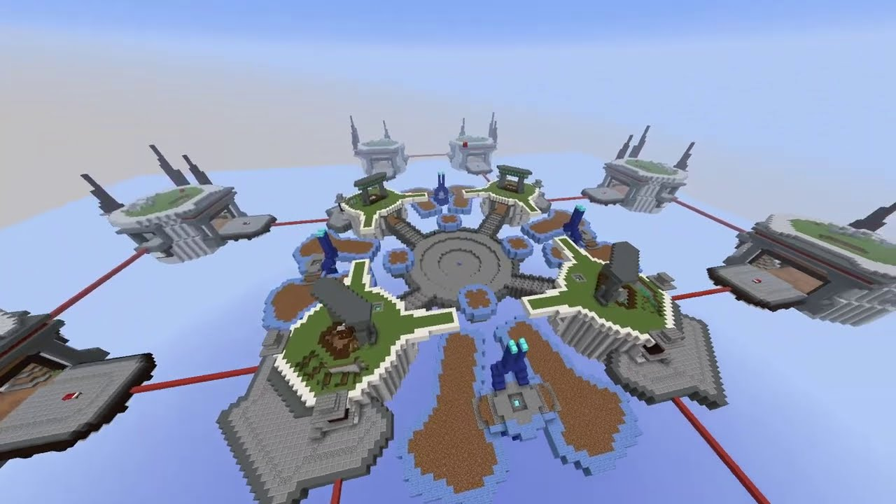 """Bed Wars Build Time Lapse with AdamWho - Take a peak at AdamWho working on the Bed Wars map """"Cliffside""""!  Server: mc.hypixel.net  Music: –––––––––––––––––––––––––––––– Phantom Sage [NCS Release] by MIK"""