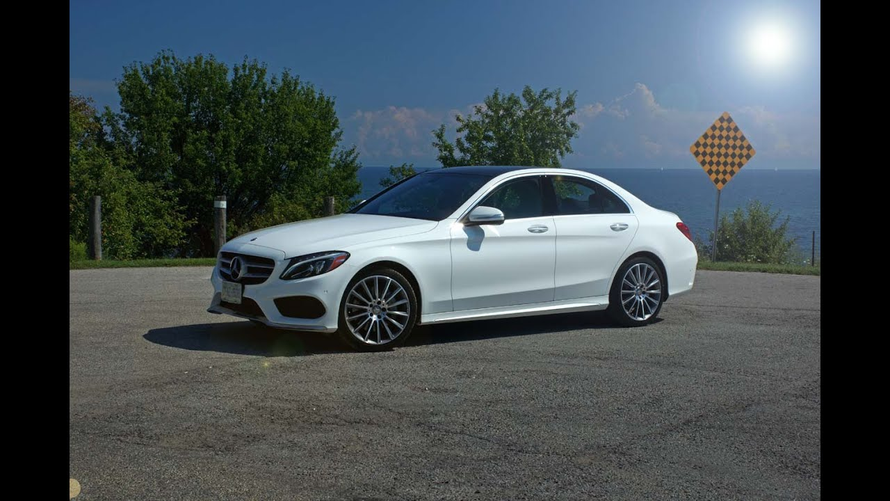 2015 MercedesBenz CClass C 400 4MATIC  Review  YouTube