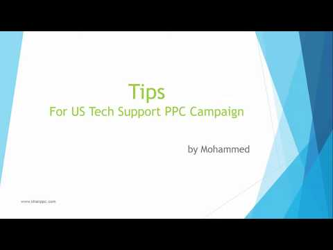 How To Create a Successful Tech Support Campaign - Using Google AdWords Ads