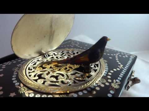 Antique singing bird box. www.singingbirdbox.com