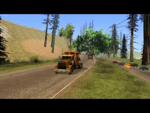 Mod Traffic & Travel For GTA SA