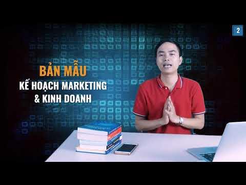 [Kế hoạch Marketing] Bài 2: Bản mẫu kế hoạch Marketing và kinh doanh   PA Marketing