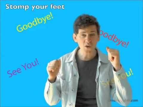 The Goodbye Song for Children - YouTube