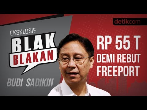 Blak-blakan Budi Sadikin: Rp 55 T Demi Rebut Freeport!!