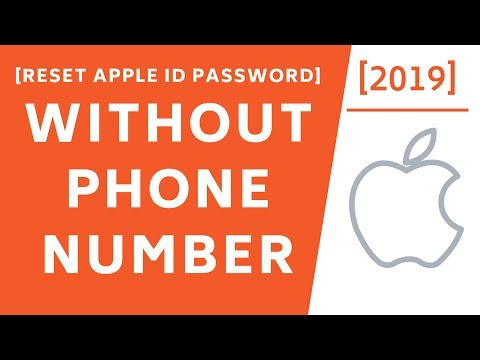 How to reset my icloud password without phone number