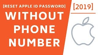 Gambar cover How to Reset Apple ID Password without Phone number! [2019]