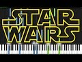 Star Wars Medley [Piano Tutorial] (Synth