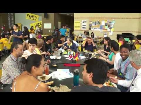 """""""Language tables"""" help Rice students learn foreign languages beyond the classroom"""