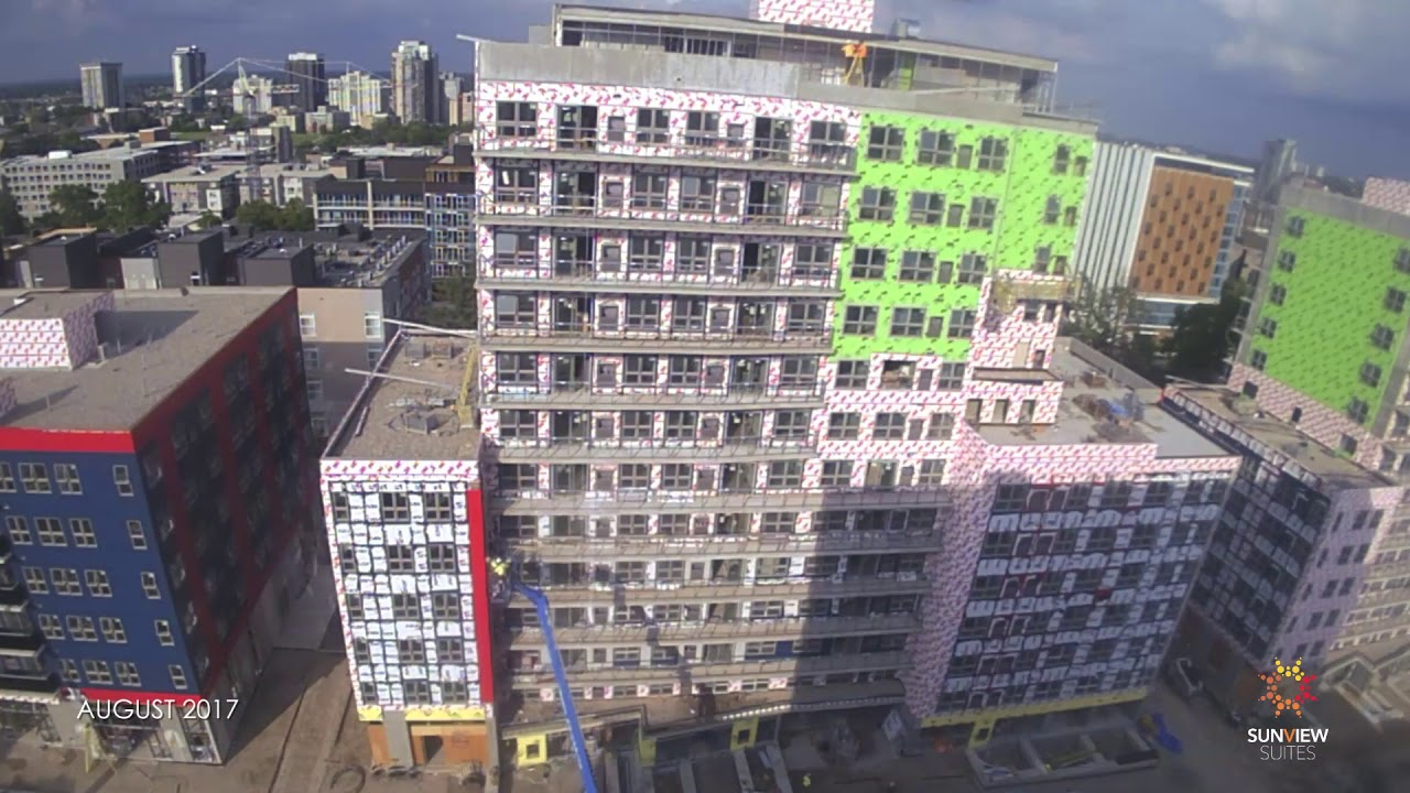 Sunview Suites - Waterloo - Time-Lapse up to August 16th, 2018