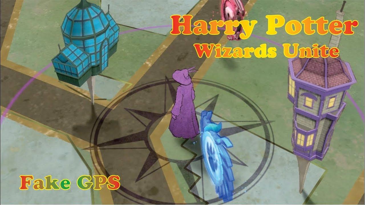 wizards unite fake gps