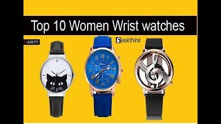 Top 10 New 2017 Women Watch Luxury Brand Fashion Casual Lady Wrist Watches Review