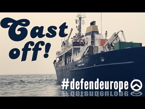Far-right group sends ship to confront boats rescuing