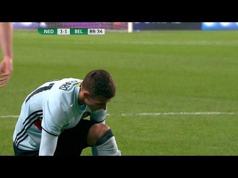 Thorgan Hazard vs Netherlands (Friendly) 16-17 HD 1080i