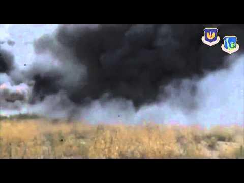 Истребитель F-16 столкнулся с частным самолетом в Южной Каролине