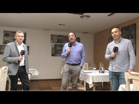 """Entrevista en el Restaurante """"El Fogón del Salvador"""" de Soria"""