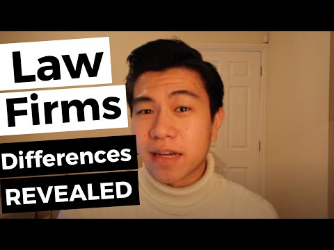 How To Distinguish Between Law Firms?   Commercial Awareness Series #3