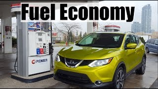 2018 Nissan Qashqai - Fuel Economy MPG Review + Fill Up Costs