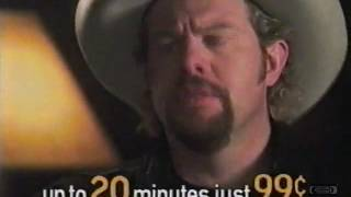 Toby Keith & Terry Bradshaw | 10-10-220 | Television Commercial | 2001 thumbnail