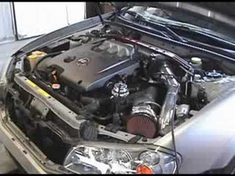 SFR Nissan Maxima turbo system - YouTube