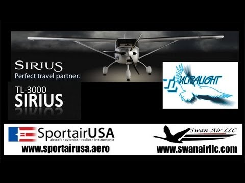 Sirus TL3000 light sport aircraft flight report PART II, TL Ultralights SportairUSA