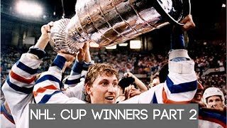 NHL: Stanley Cup winners part 2