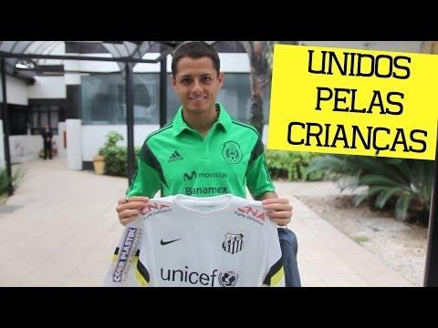 Santos, UNICEF e Chicharito: unidos pelas crianças!