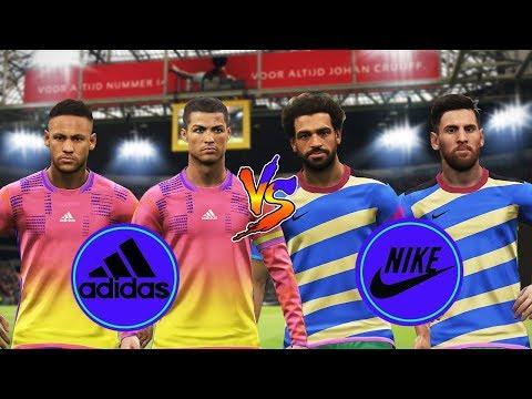 PES 2019 | My New Kits Team Adidas FC vs Team Nike FC | Amazing Goals | Gameplay PC