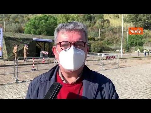 Corriere della Sera: Tensostruttura per tamponi a Catanzaro, Spirlì: «Il Governo latita, la Regione no»