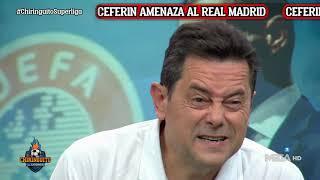 💣RONCERO responde a la AMENAZA de CEFERIN al REAL MADRID