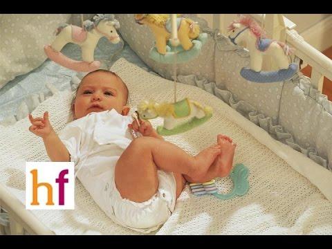 como hacer para que un bebe duerma solo en su cuna