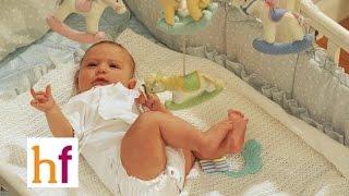 Cómo conseguir que el bebé esté tranquilo en la cuna