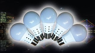 Эксперимент по ремонту LED ламп ОНЛАЙТ 10Вт.