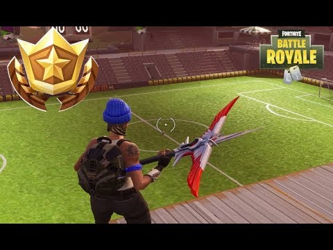 Fortnite - Football Pitch Locations, Battle Pass Challenge