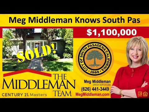 Homes For Sale Near Monterey Hills Elementary School South Pasadena CA 91030