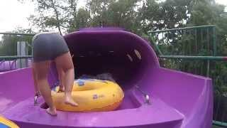 Smoggy Purple Water Slide at Palatinus Aquapark