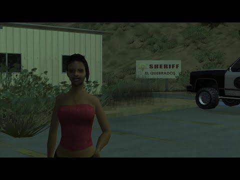 GTA San Andreas - Girlfriend #6 - Barbara Schternvart (1080p)