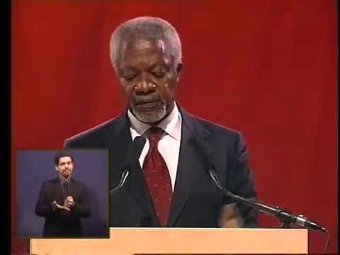 5th Nelson Mandela Annual Lecture by Kofi Annan
