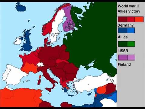 World War 2 [Alternate] Allies victory / every day