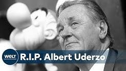 TRAUER: Asterix- & Obelix-Zeichner Albert Uderzo gestorben