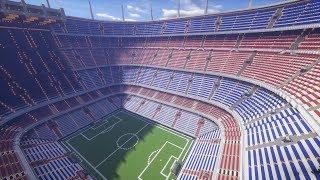 The Biggest Minecraft Stadium Ever Created