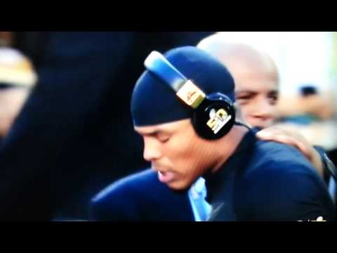 "Cam Newton says of Warren Moon ""Get the fuck outta my face, man."""