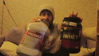 Whey Protein Review - Maximuscle Promax and Optimum Nutrition