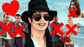 GTA 5 Michael Jackson Has Sex With Tracey Michael Kills Franklin Trevor Amanda And Michael Jackson