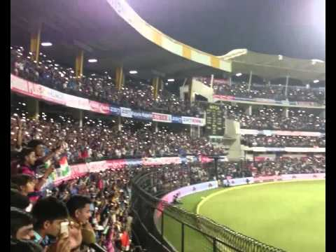 Torch light effect at Holkar stadium Indore, India