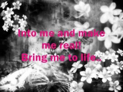 Wake Me Up Inside (Bring Me To Life) - Evanescence - Lyrics!