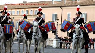 Changing of the Honor Guard at Quirinal Palace - Italian Flag Day 2015 - Carabinieri Mounted Fanfare