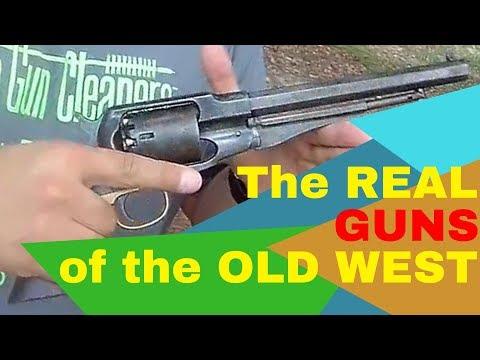 Guns of the Old West - Black Powder Revolver and Carbine Gunslinger Video